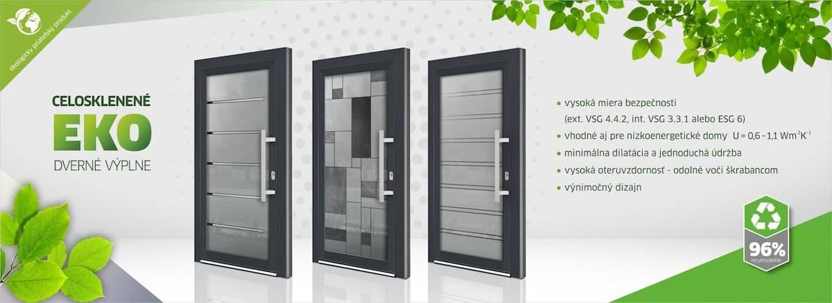 Ekologické vchodové dvere