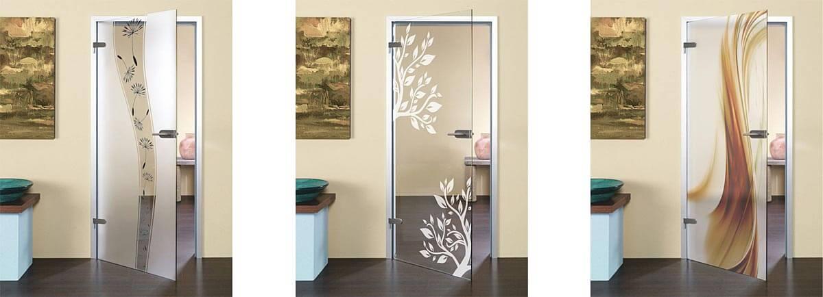 interiérové dvere sklenené