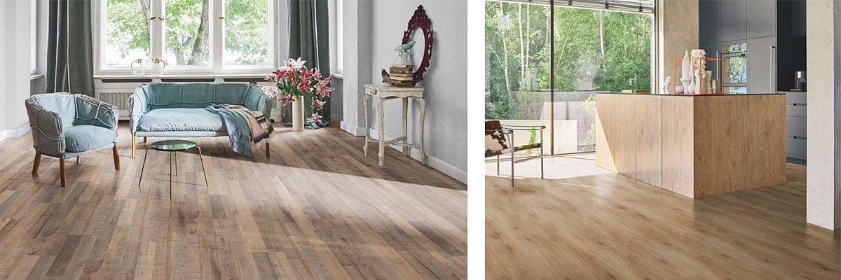 Laminátové podlahy a dvere