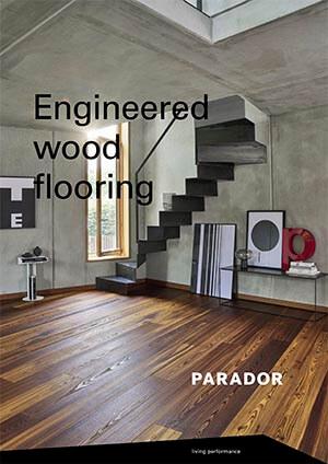 Drevené podlahy nemeckej značky Parador
