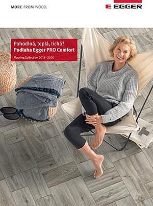 Korkové podlahy Egger Pro Comfort katalóg