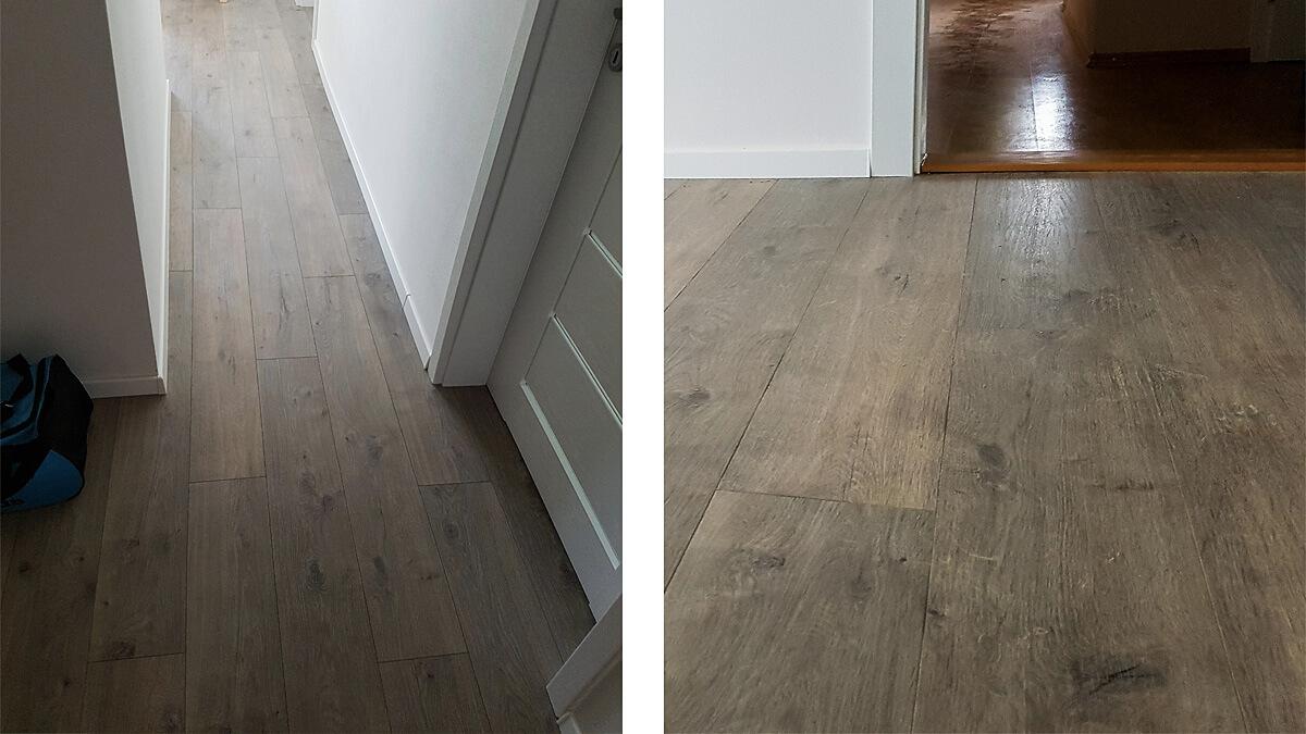 Laminátová podlaha EGGER dub muron sivý 12 mm