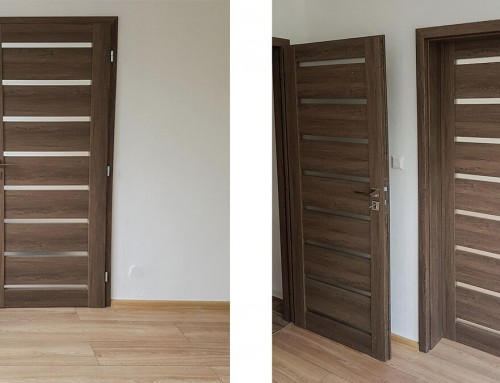 Interiérové dvere INVADO Linea Forte a podlaha KRONO